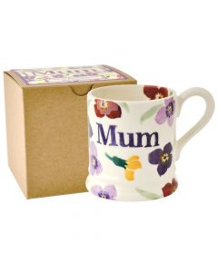 Emma Bridegwater Wallflower Mum Half Pint Mug