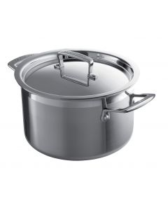 24CM 3 PLY STAINLESS STEEL DEEP CASSEROLE LE CREUSET