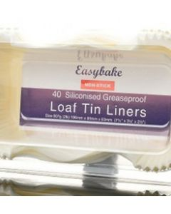 2LB/907G LOAF TIN LINERS