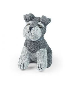 SUGAR BEAR THE SCHNAUZER DOORSTOP DORA DESIGNS