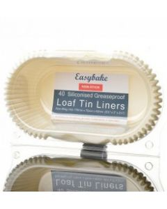 1LB/454G LOAF TIN LINERS