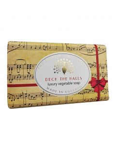 The English Soap Company Deck the Halls Mulled Wine Luxury Hand Soap