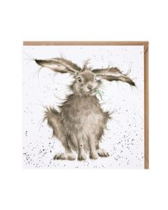 Wrendale Hare-Brained Card