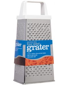 FOUR SIDED GRATER STAINLESS STEEL