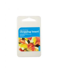 15X25CM POLYETHYLENE REVERSIBLE CHOPPING BOARD