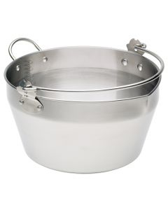 9 LITRE MASLIN PAN STAINLESS STEEL