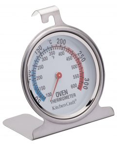 OVEN THERMOMETER STAINLESS STEEL