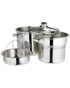 20CM PASTA POT STAINLESS STEEL