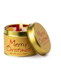 Lily Flame, Merry Christmas Scented Candle Tin