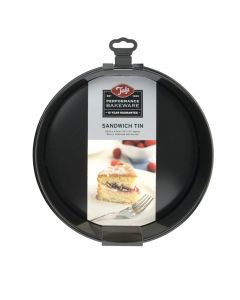Tala Performance Sandwich Cake Tin, Non-Stick Loose Base 25cm / 10 inch